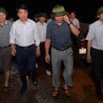 Chủ tịch Hà Nội: Không để người dân gặp nguy hiểm do mưa lũ