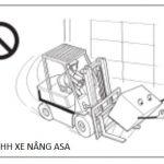 Cách tránh lật xe và xử lý khi xe nâng hàng bị lật phần I