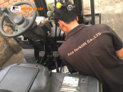 Sửa xe nâng hàng tại Bình Dương là giải pháp hàng đầu của các doanh nghiệp ở tỉnh Bình Dương