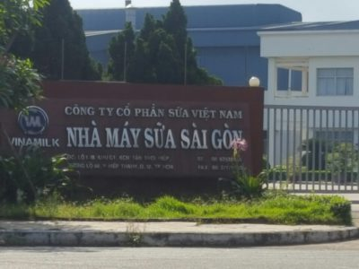 Nhà Máy Sữa Sài Gòn - Nhân Viên Asa Bảo trì+ sửa chữa xe nâng