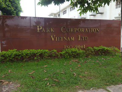Nhân viên Asa sửa chữa cho khách hàng Công ty TNHH Park Corp.Việt Nam