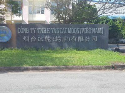 Sửa chữa + bảo trì cho khách hàng  Công ty TNHH Yantai Moon (Việt Nam)