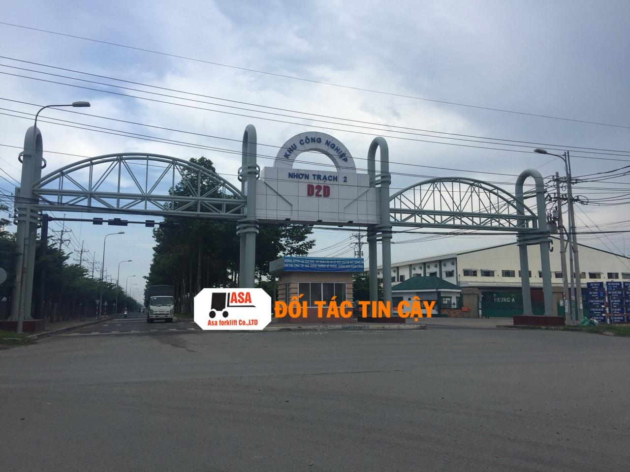 Đồng nai là một tỉnh có nhiều KCN nên việc sử dụng xe nâng hàng ở đây rất nhiều