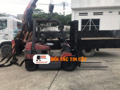Dịch vụ sửa chữa xe nâng tại các tỉnh Miền Tây