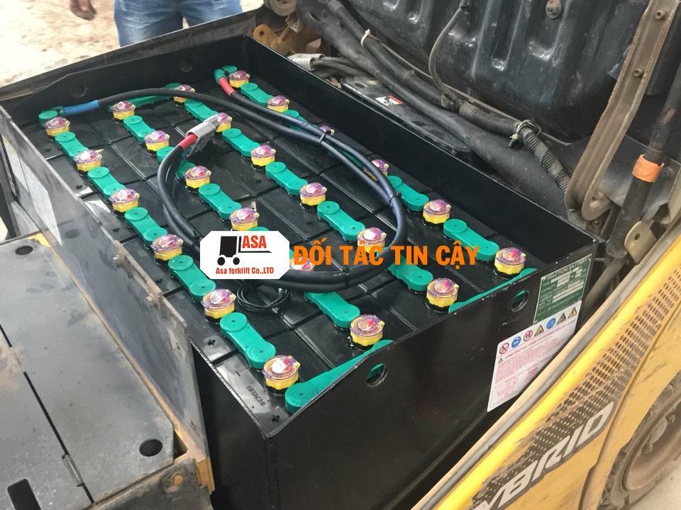 asa cung cấp bình ắc quy xe nâng điện