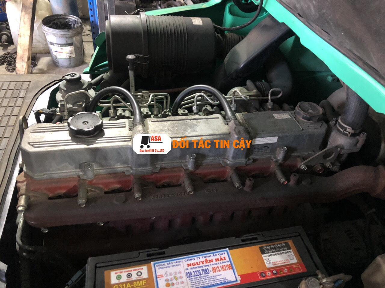 đối tác sửa xe nâng hàng tin cậy giá rẻ