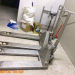 Cung Cấp Và Sửa Chữa Xe Nâng Tay Inox TPHCM