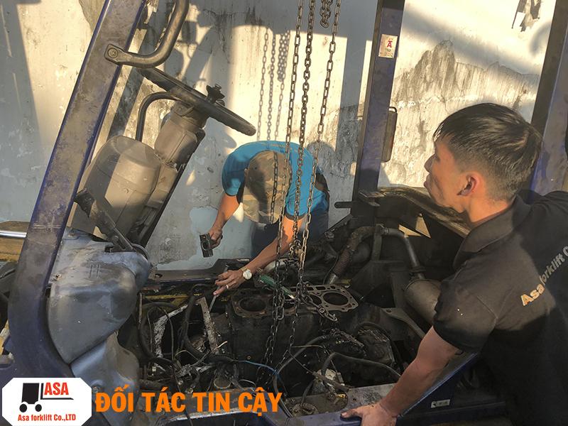 Công Ty TNHH Xe Nâng ASA, nhận sửa chữa tất cả các loại xe nâng tại quận 3.
