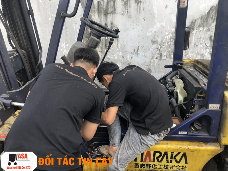 Kỹ thuật ASA luôn tận tâm sửa chữa dù là các lỗi nhỏ hay lớn.